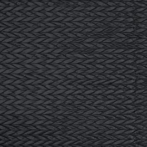 Black Chevron Quilted Coating