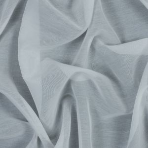 Theory White Silk and Cotton Voile