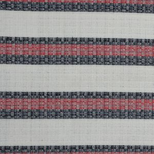 Sea NY Italian Red, White and Blue Striped Tweed