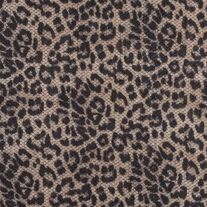 Circle Sequins with a Leopard Top Foil and a Black Knit Backing