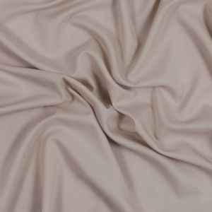Cole Haan Moonlight Beige Stretch Polyester Double Georgette