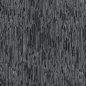 Theory Black and White Striated Virgin Wool Knit