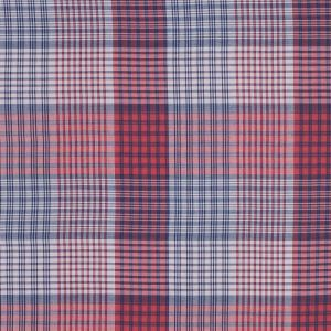 Red and Blue Plaid Japanese Cotton Voile