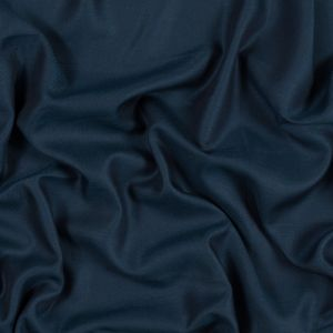 Oceanic Blue Tencel and Wool Twill