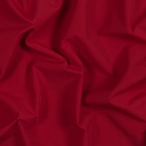 Barbados Cherry Red Polyester and Cotton Faille