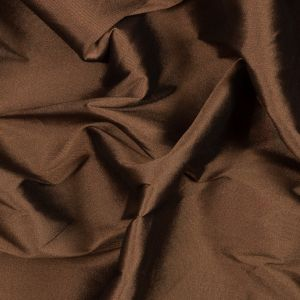 Brown Blended Silk Twill