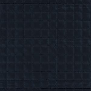 Navy Square Quilted Coating with Filler