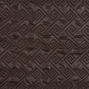Brown and Black Reversible Quilted Coating