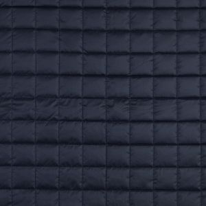 Maritime Blue Large Square Quilted Coating