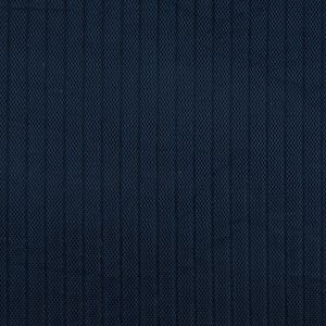 Blue Linear Ribbed Mesh Quilted Coating