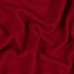 Red Double-Sided Polyester Fleece
