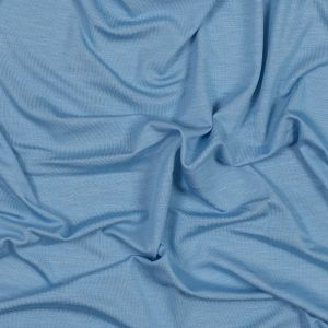 Baby Blue Washed Rayon Jersey