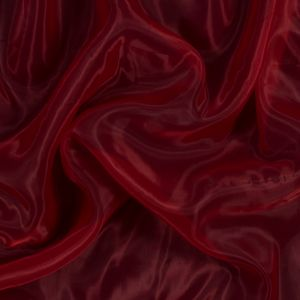 Red Smooth Organza