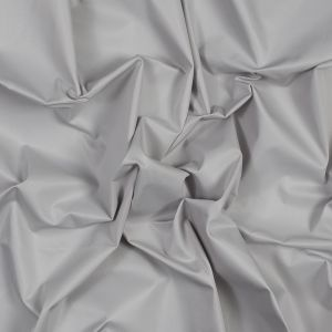 Light Gray Water-Resistant Polyester Twill
