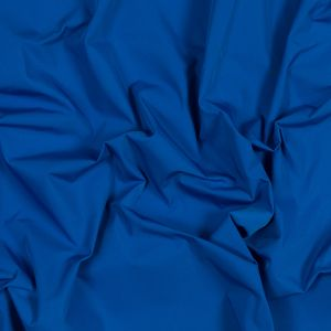 Royal Blue Water-Resistant Polyester Twill