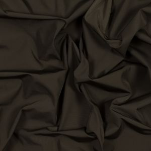 Brown Water-Resistant Polyester Twill