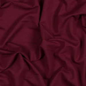 Heretic Red Bamboo and Cotton Stretch Knit Fleece