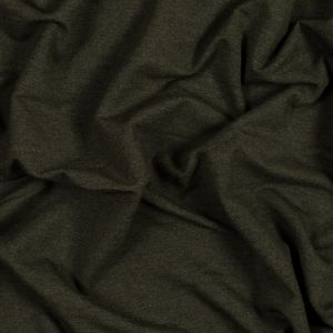 Heather Forest Bamboo and Cotton Stretch Knit Fleece