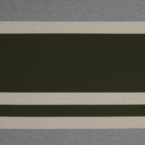 Olive, Oatmeal and Gray Awning Striped Jersey
