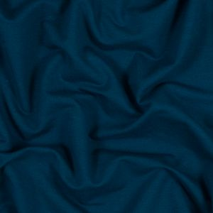 Moroccan Blue Bamboo Stretch French Terry