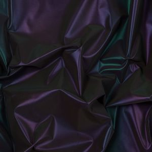 Rainbow Reflective Fabric with Cotton Backing