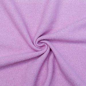 Dusty Mauve Solid Boiled Wool