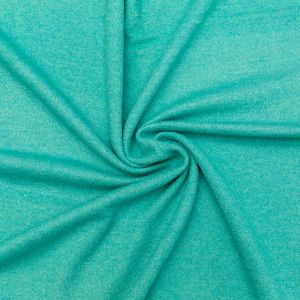 Mint Solid Boiled Wool