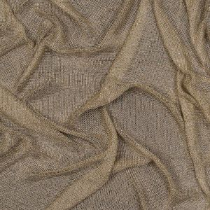 Gold Plastic Chainmail Fabric