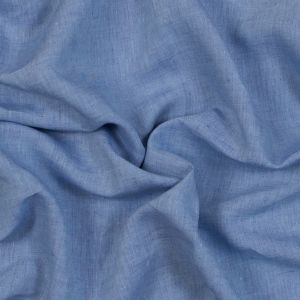 Sanremo Blue and Violet Two-Tone Linen Woven