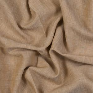 Sanremo Fall Leaf and White Two-Tone Linen Woven