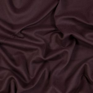 Michael Kors Antique Purple Wool and Cashmere Coating