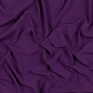 Purple Jelly Stretch Polyester Crepe