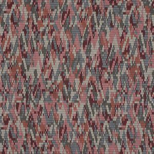 Rust and Beige Geometric Polyester Lining