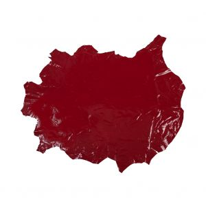 Large Red Patent Lamb Leather
