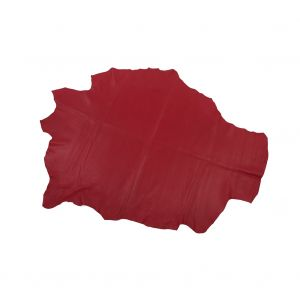 Large Red Lamb Leather