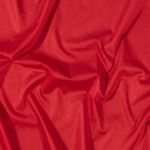Toulouse Red Mercerized Cotton Voile