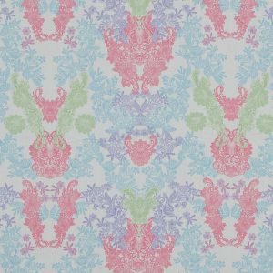 Pastel Lace Printed Cotton Sateen