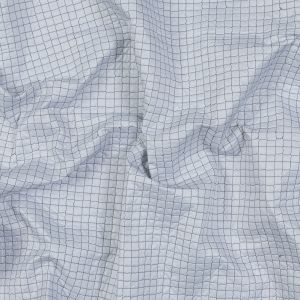 Black and White Reversible Quilted Coating with Filler