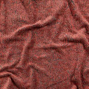 Italian Faded Rose and Gray Two-Tone Wool Knit