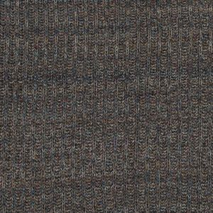 Italian Taupe and Blue Chunky Wool Knit