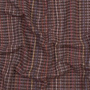 Red and Pink Woven Wool Tweed