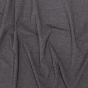 Italian Gray Stretch Tropical Wool Suiting