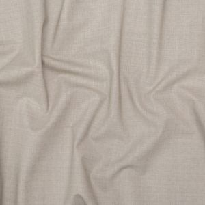 Italian Cement Stretch Tropical Wool Suiting