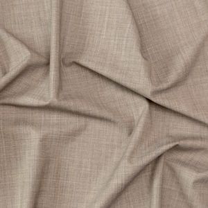 Theory Heathered Beige Stretch Wool Suiting