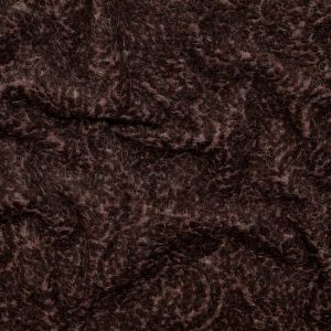 Black and Gray Fuzzy Wool Knit