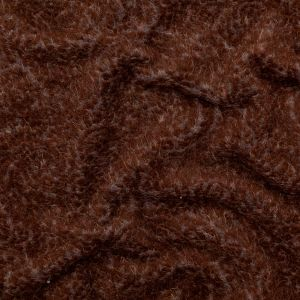 Brown and Gray Fuzzy Wool Knit