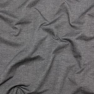 Heathered Tornado and Antarctica Reversible Perforated Cotton Chambray