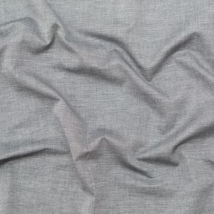 Rag & Bone Heathered Gray and White Lightweight Cotton Double Cloth