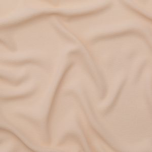 Bleached Sand Pressed Tactile Polyester Crepe