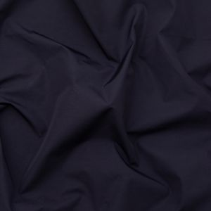 Italian Uniform Navy and Steel Blue Waxed Polyester and Rayon Faille